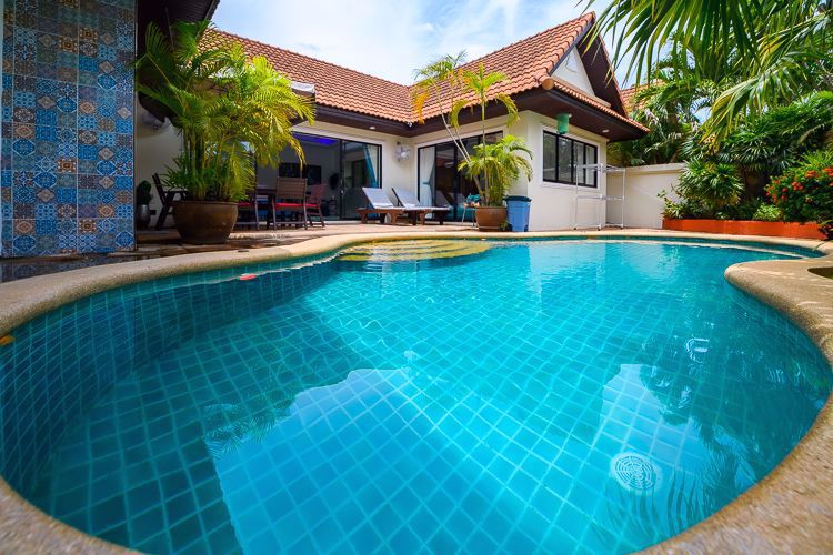 图片 3 Bedrooms bed in House in View Talay Villas in Jomtien H008944