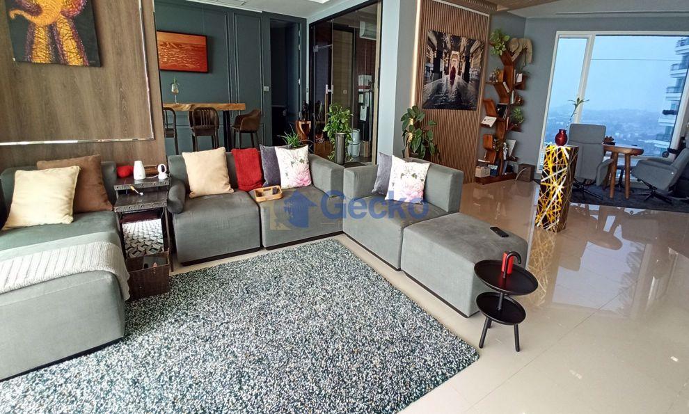 Picture of 3 Bedrooms bed in Condo in Reflection in Jomtien C008981