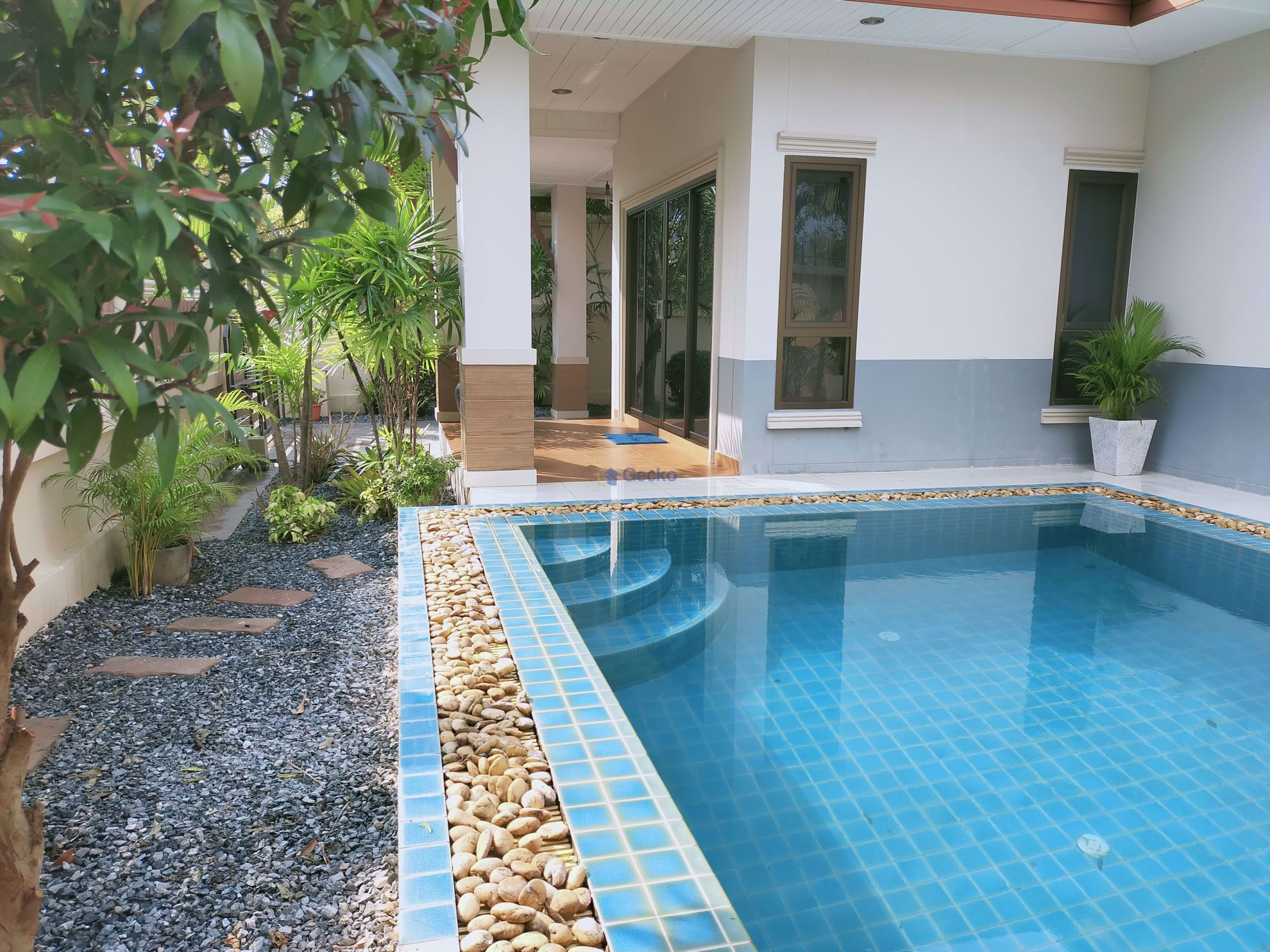 图片 2 Bedrooms bed in House in Dusit Pattaya Park in Huay Yai H009028