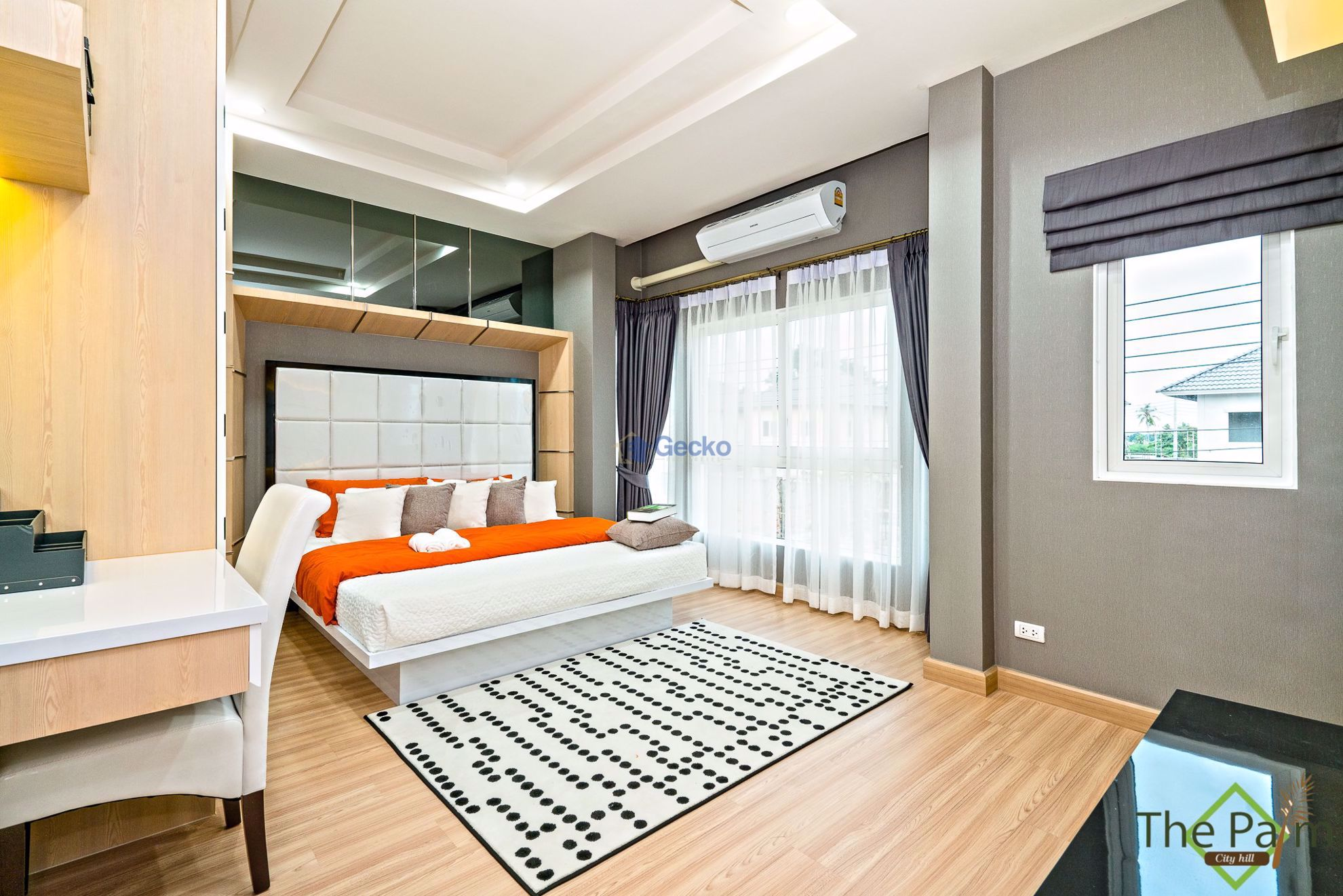 Picture of 3 Bedrooms bed in House in The Palm City Hill in East Pattaya H009049