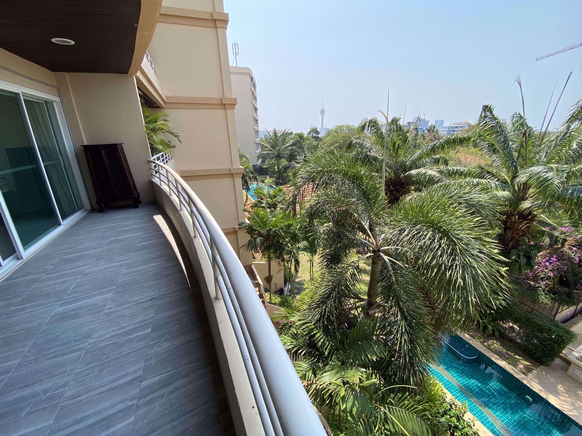 图片 1  Bedroom bed in Condo in Executive Residence 2 in Pratumnak C009085