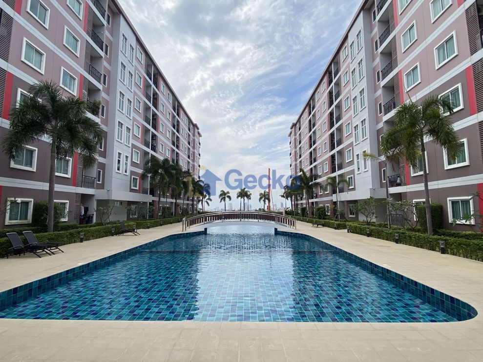 รูปภาพ 1  Bedroom bed in Condo in Chockchai Condo 2 in Bang Lamung C009117
