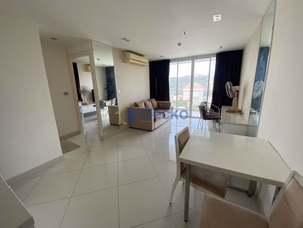 รูปภาพ 1  Bedroom bed in Condo in The View Cozy Beach in Pratumnak C009157