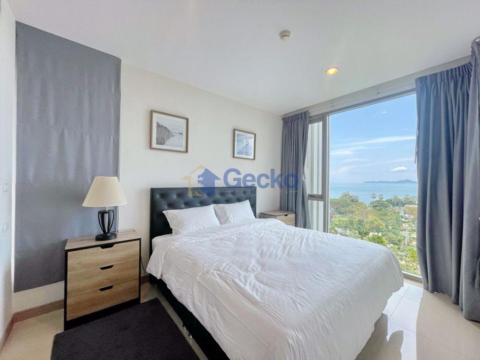图片 1  Bedroom bed in Condo in The Riviera Wong Amat Beach in Wongamat C009204