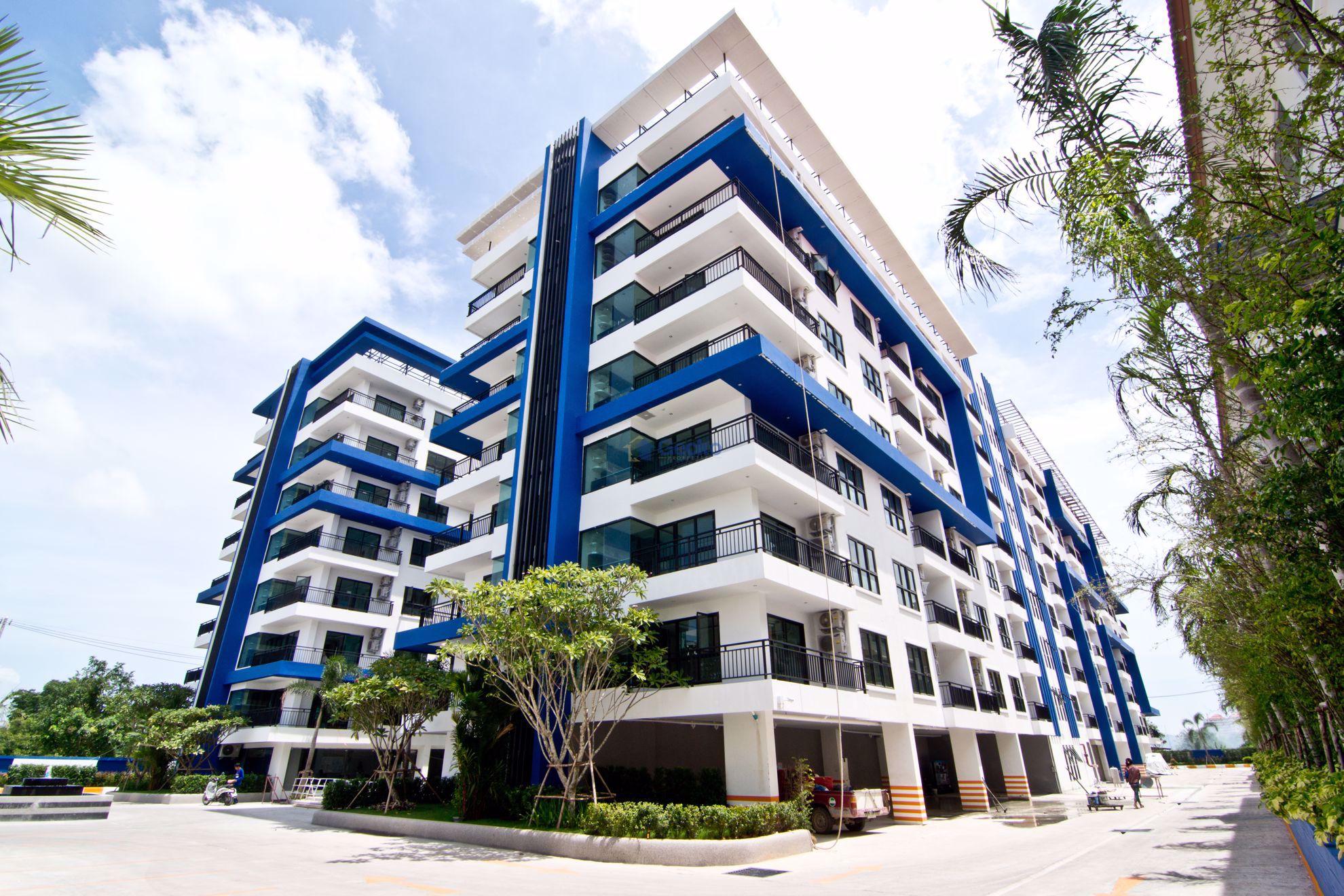 图片 1  Bedroom bed in Condo in Blue Residence in East Pattaya C009225