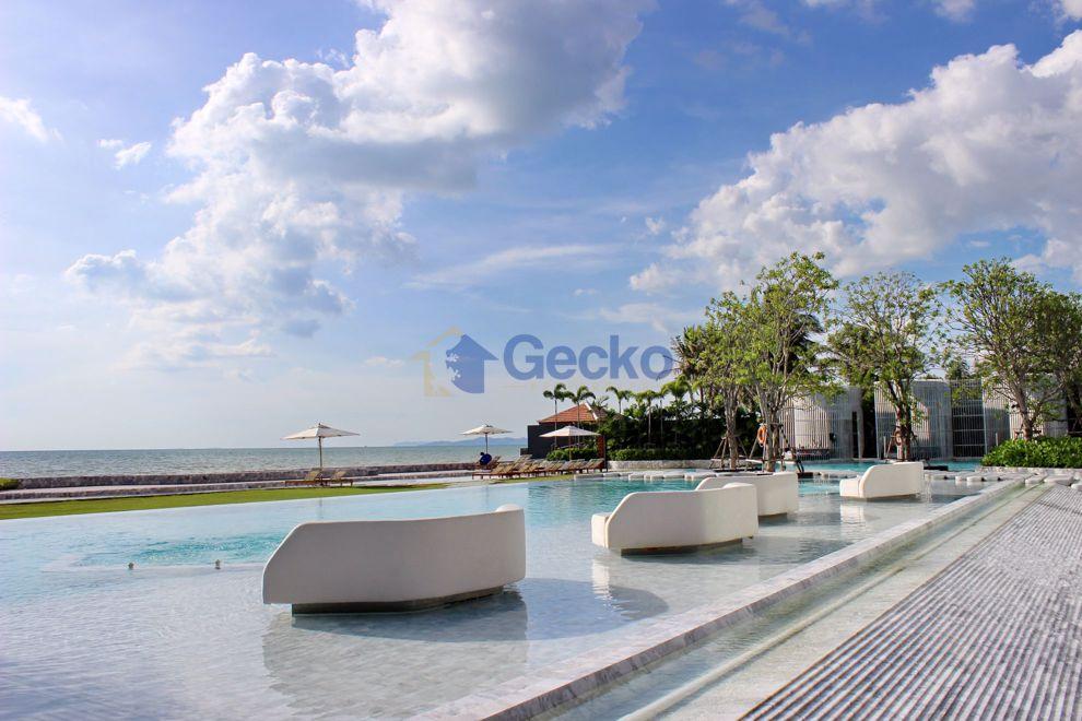 รูปภาพ 1  Bedroom bed in Condo in Veranda Residence Pattaya in Na Jomtien C009230