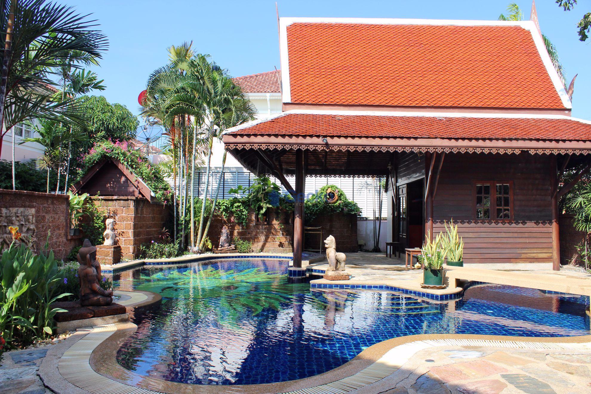 รูปภาพ 6 Bedrooms bed in House in Central Park III in Central Pattaya H009231