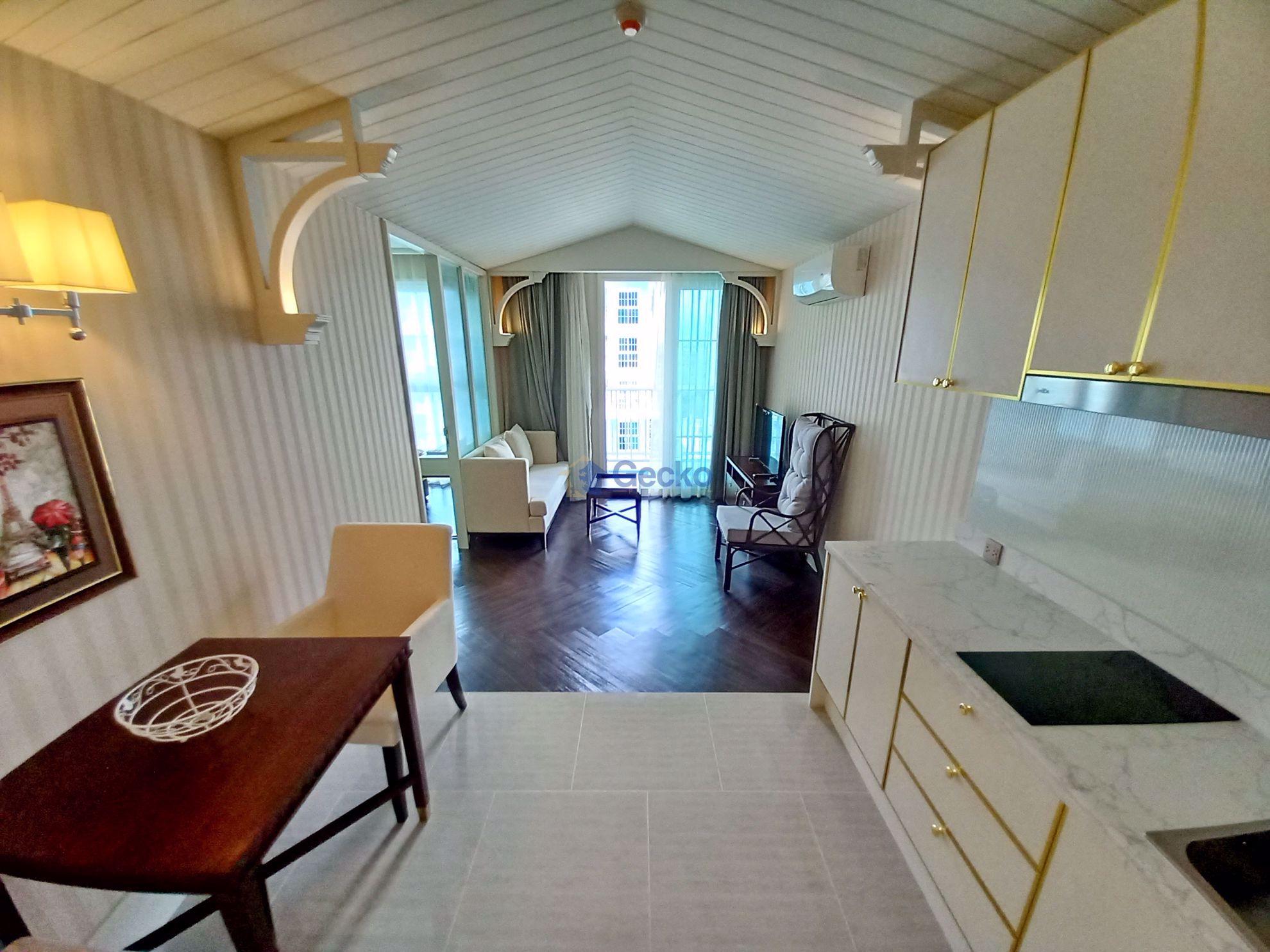 图片 1  Bedroom bed in Condo in Grand Florida Beachfront Condo Resort in Na Jomtien C009281