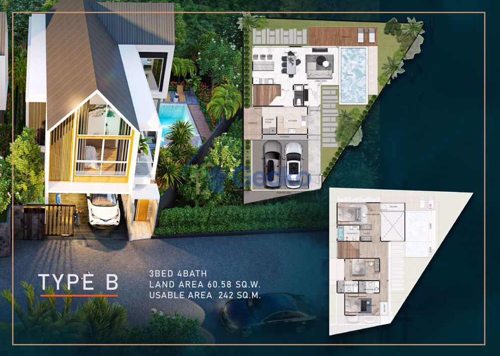 Picture of 3 Bedrooms House in Baan Mae Villa  East Pattaya H009327