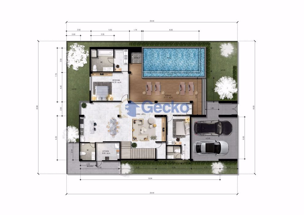 Picture of 5 Bedrooms House in Astro Hill Pattaya  East Pattaya H009532